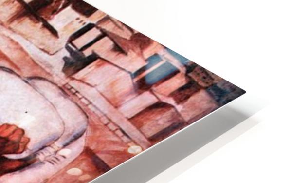 The men by Albin Egger-Lienz HD Sublimation Metal print