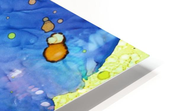 Bubbles in the Pool HD Sublimation Metal print