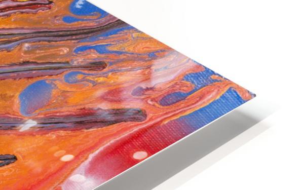 METEORITE HD Sublimation Metal print