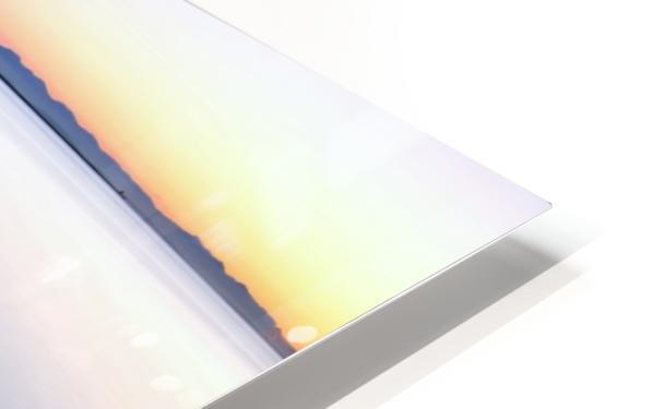 Serene Sunset HD Sublimation Metal print