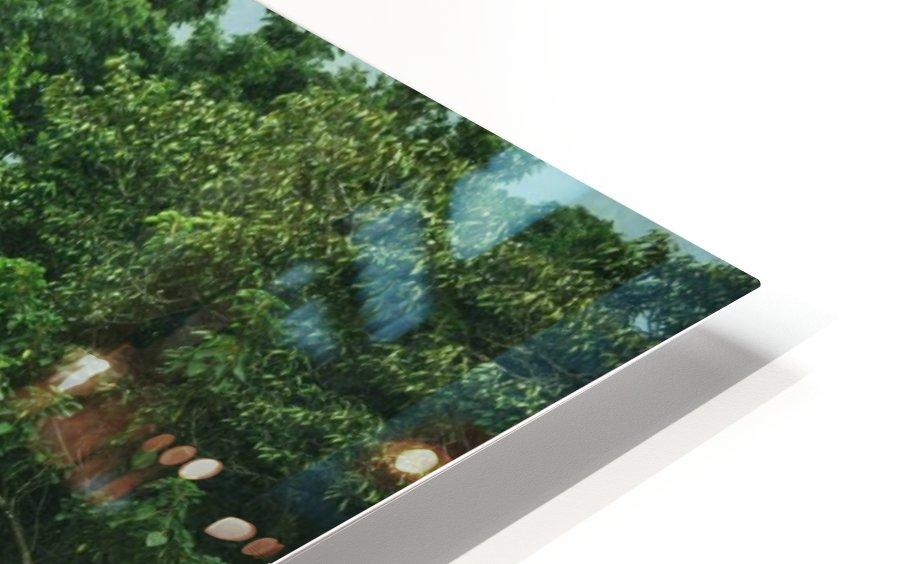 Rainforest Canopy HD Sublimation Metal print