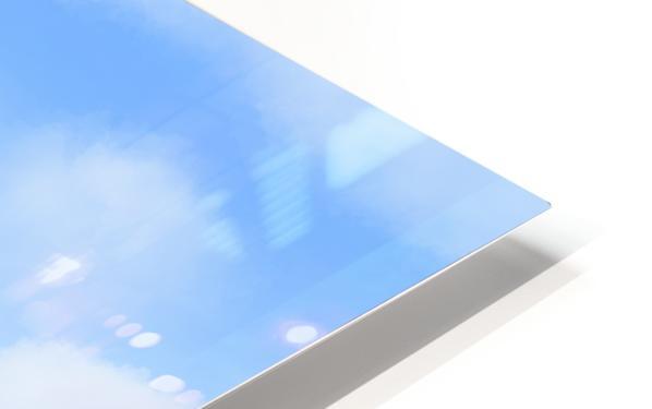 Happy Clouds - Original Artwork HD Sublimation Metal print