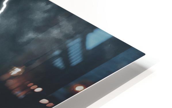 Lightning Strikes HD Sublimation Metal print