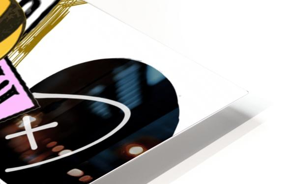 Golden Times HD Sublimation Metal print