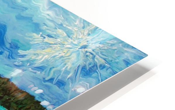 Mount Baker HD Sublimation Metal print