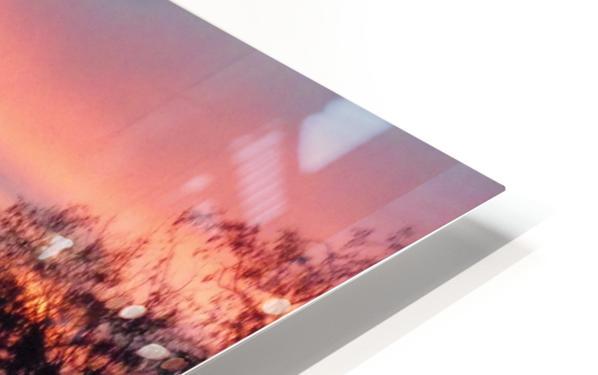 Sunset 2 HD Sublimation Metal print