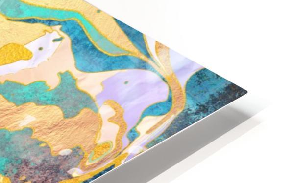 Dreamy Mountain - Illustration II HD Sublimation Metal print
