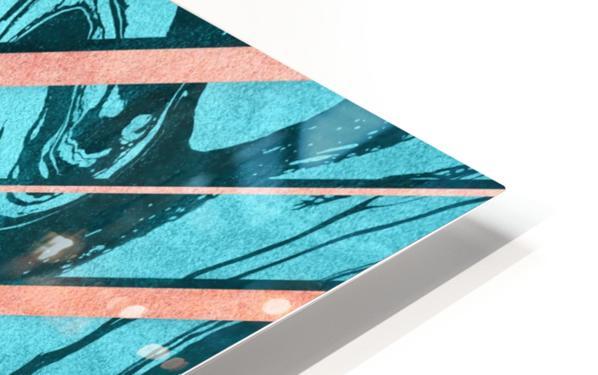 Geometric XXXXVI HD Sublimation Metal print