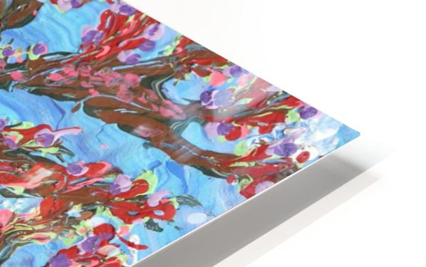 Cherry tree HD Sublimation Metal print