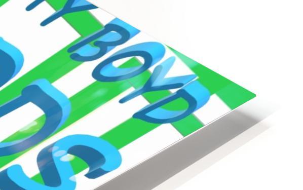 ECO WEEDBOARDS 4 LIFE   ECO ARTIST TOMMY BOYD HD Sublimation Metal print