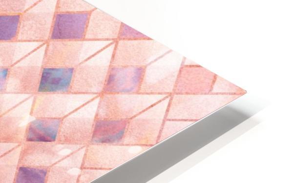 Geometric XXXXVII HD Sublimation Metal print