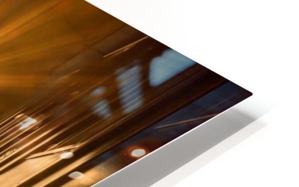 Silhouette  Tower Bridge London Impression de sublimation métal HD