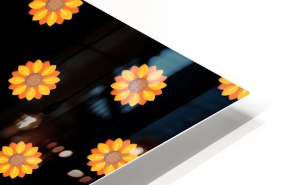Sunflower (31) HD Sublimation Metal print