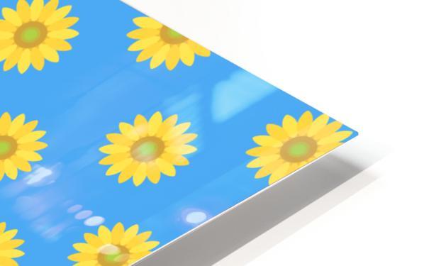 Sunflower (36) HD Sublimation Metal print