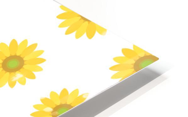 Sunflower (4) HD Sublimation Metal print