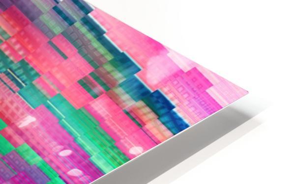 Vivid Pattern XVI HD Sublimation Metal print