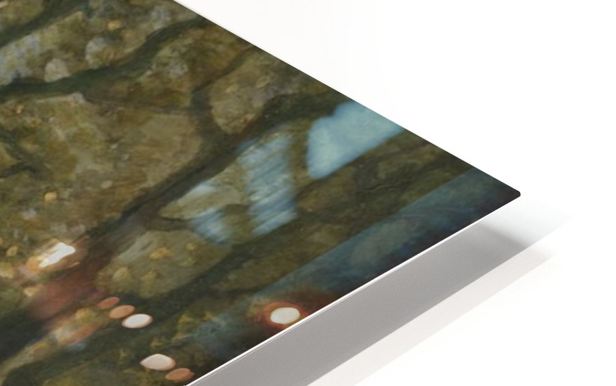 Grain collecting HD Sublimation Metal print