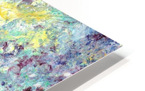 Abstract flower HD Sublimation Metal print