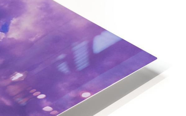 Purple skies HD Sublimation Metal print