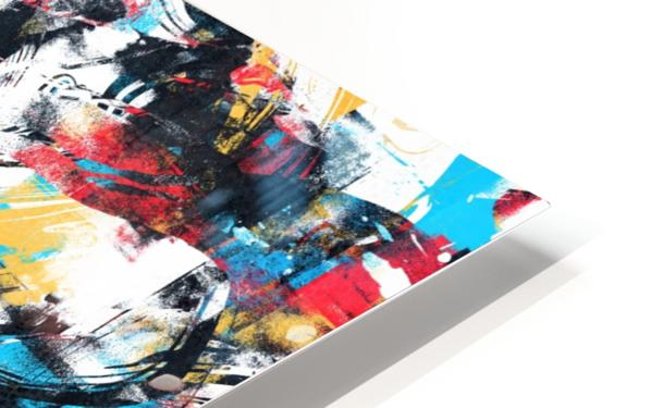 Abstract Flow II HD Sublimation Metal print