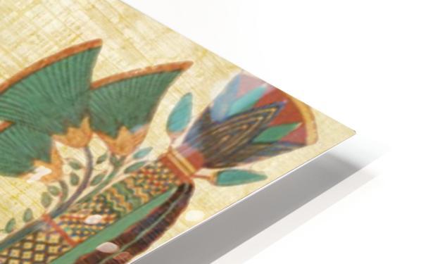egyptian paper papyrus bird HD Sublimation Metal print