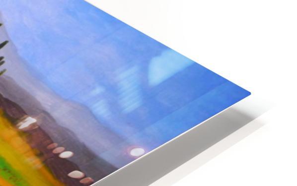 painting art landscape acrylic HD Sublimation Metal print
