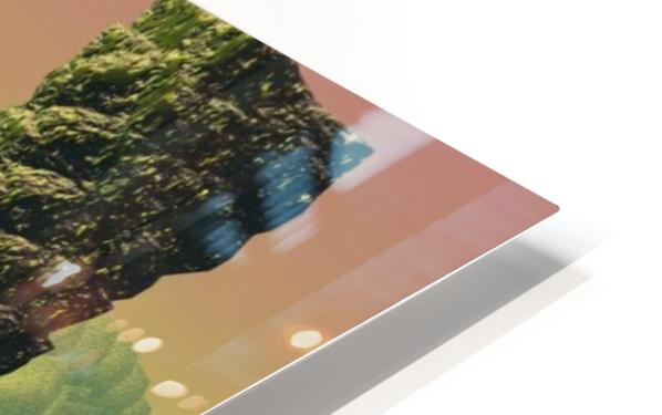 planet water sea landscape space HD Sublimation Metal print