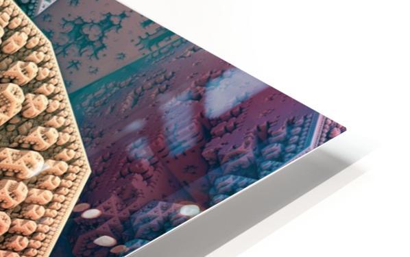 fractals 3d graphics designs   HD Sublimation Metal print