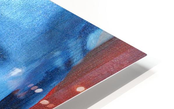 Feeling Blue HD Sublimation Metal print