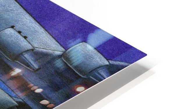 Bomb HD Sublimation Metal print