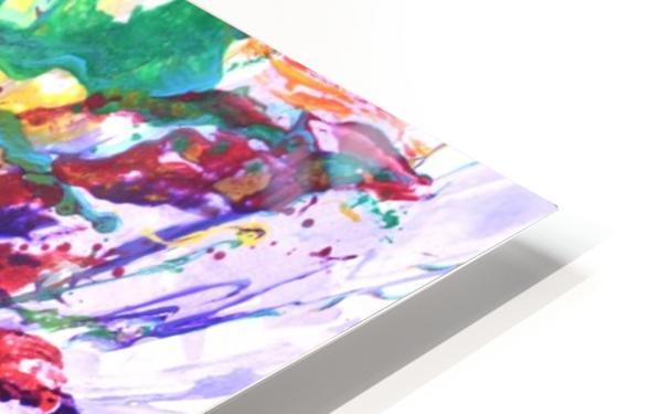 Riding Colors  HD Sublimation Metal print