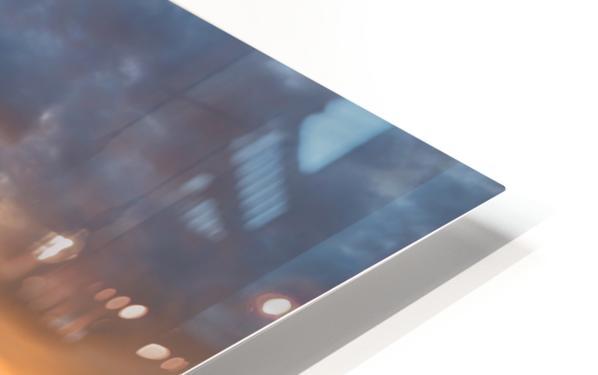 The Endless Sun HD Sublimation Metal print
