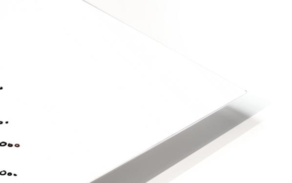 The Eye  12X12 1 1 HD Sublimation Metal print