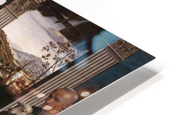 The adoration of the sheperds HD Sublimation Metal print