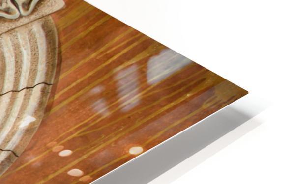 Marbled Urn Alcove - Trompe Loeil HD Sublimation Metal print