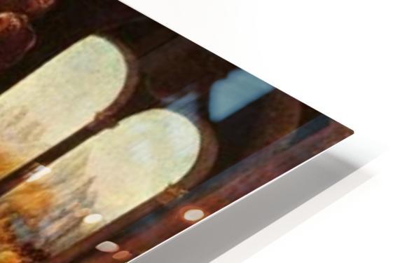Leonardo da Vinci. The Madonna of the Carnation HD 300ppi HD Sublimation Metal print