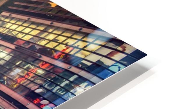 New York City Taxi Mayhem  HD Sublimation Metal print