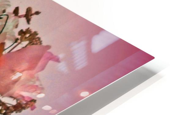 Pink Springtime Morning HD Sublimation Metal print