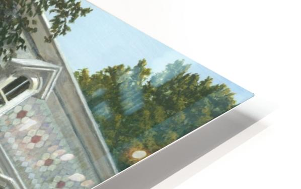 Balcony House Shadows - Newtown Scenes 16X20  HD Sublimation Metal print