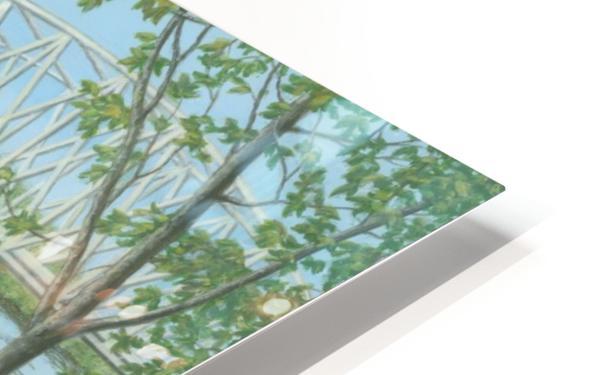 Silver Bridge - Newtown Scenes 18X24 HD Sublimation Metal print