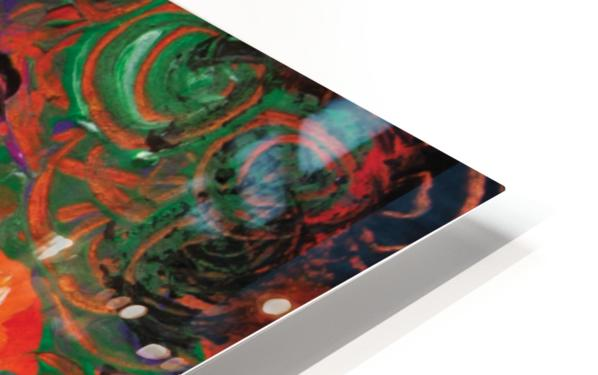 abstract colorful garden HD Sublimation Metal print