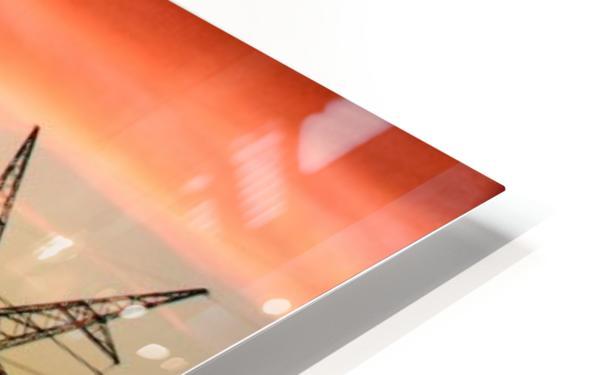 Texas Smoke HD Sublimation Metal print