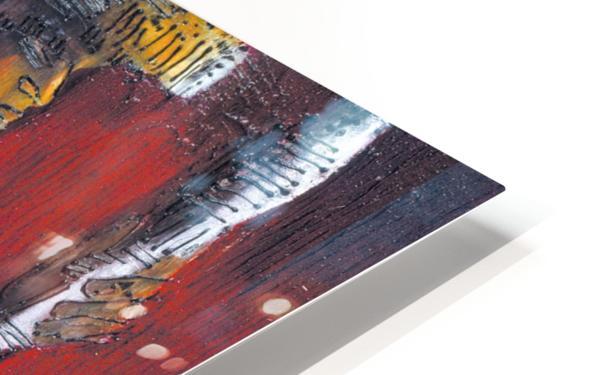 Red Massai Impression de sublimation métal HD