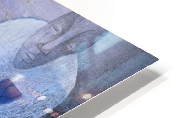 blue horserider 3 Impression de sublimation métal HD