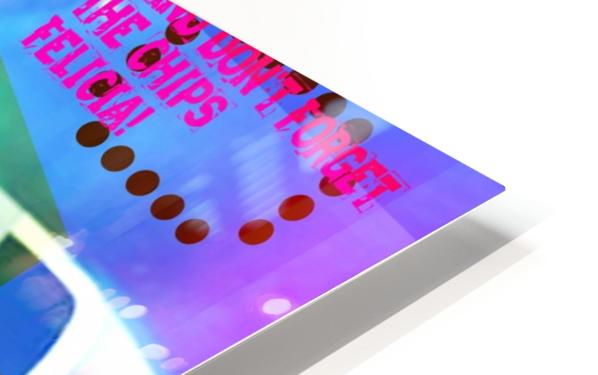 R_PUNKS_SOMEKINDOFMONSTER HD Sublimation Metal print