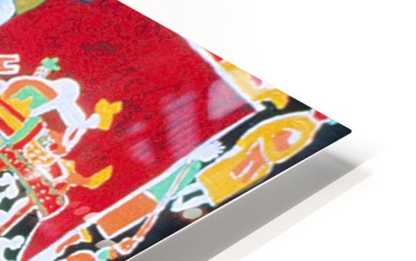 Tap Tap Lady Impression de sublimation métal HD