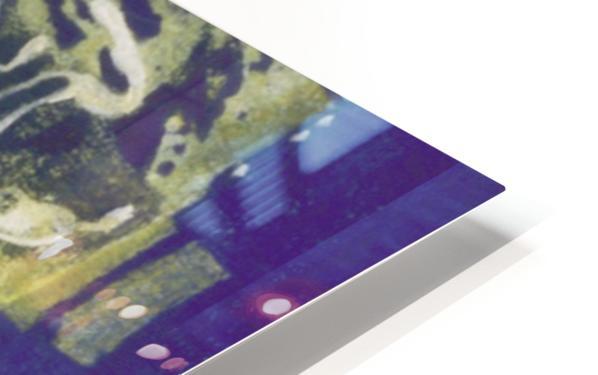 Wondering man HD Sublimation Metal print