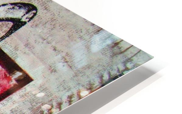 en_noir_et rouge HD Sublimation Metal print