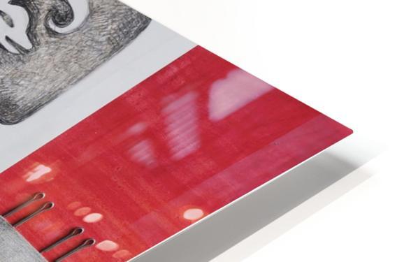 red sacrifice_vermeil HD Sublimation Metal print