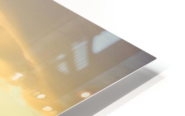 Square Butte HD Sublimation Metal print